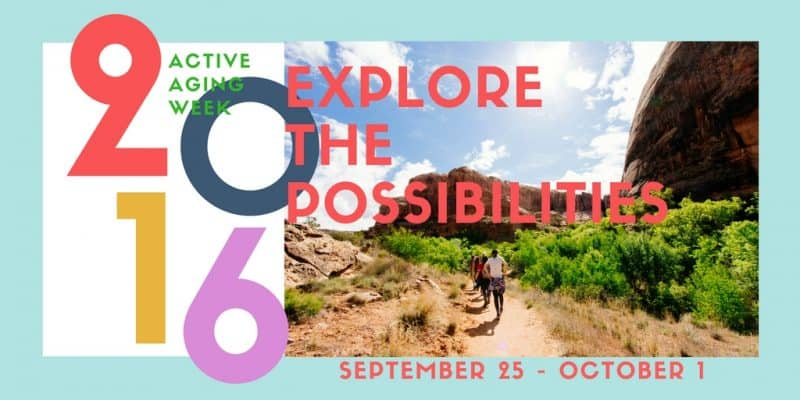 Explore the possibilities: active aging week ideas
