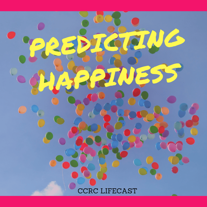 what predicts happiness Do you think and feel positively about your life i know many people who would say they are happy and highly satisfied with their life though, i also know many.