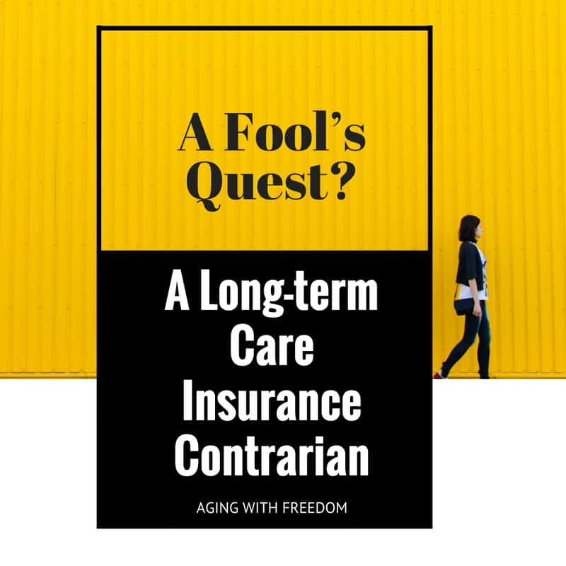 long-term care insurance contrarian