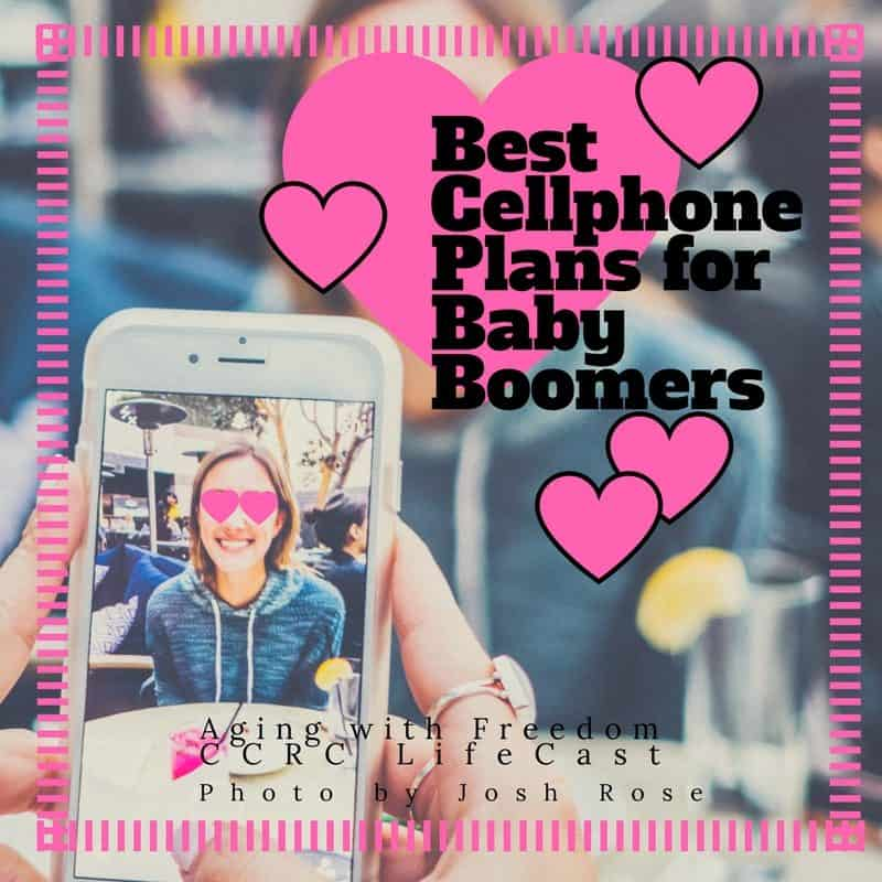 Best Cellphone plans for Baby Boomers_