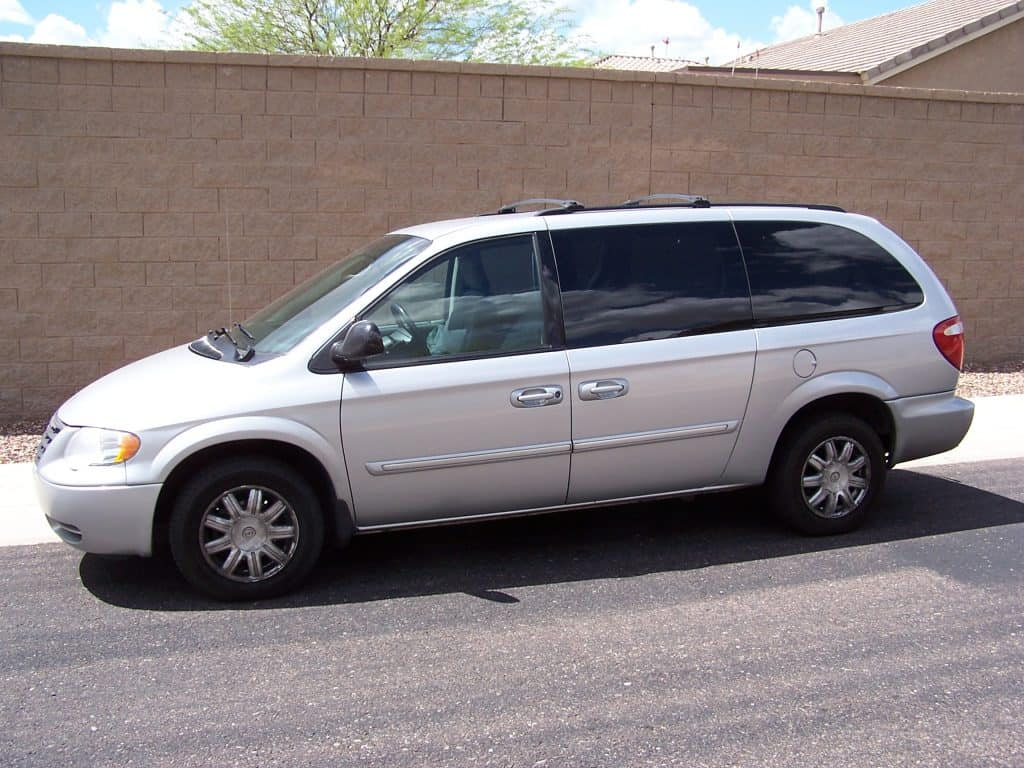 2006 Chrysler Town & Country Touring minivan before the wear and tear of road salt and rust.