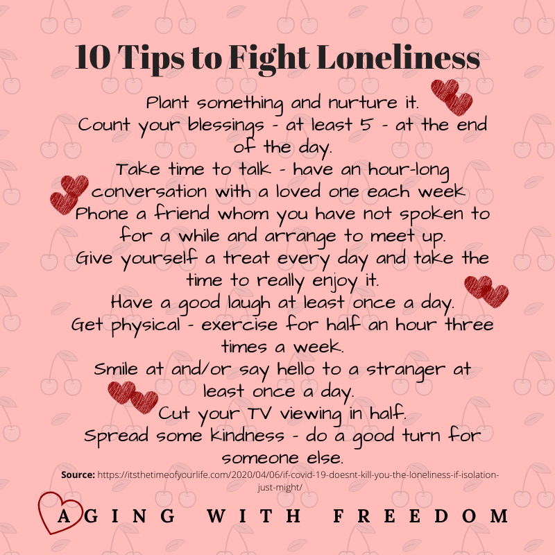 10 tips to fight loneliness