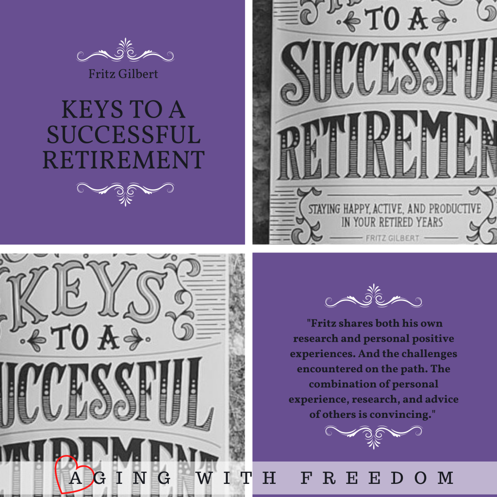 "DIY Keys to a successful retirement by Fritz Gilbert. ""Fritz shares both his own research and personal positive experiences. And the challenges encountered on the path. The combination of personal experience, research, and advice of others is convincing."""