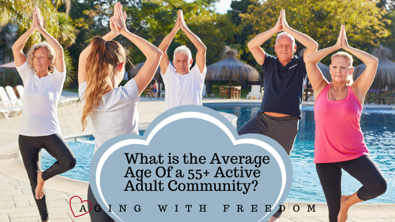 55+ Community Average Age